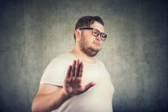 Langage du corps négatif de sentiment d'expression de visage d'émotion photo stock