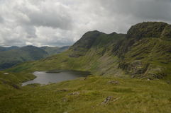 Langdael Pikes of Lake District UK Royalty Free Stock Photos