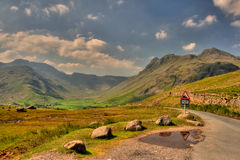 Langdale. Landscape in Great Britain Royalty Free Stock Photography
