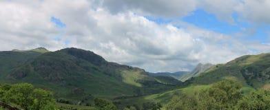 Langdale dal Cumbria Royaltyfria Bilder