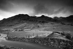 Langdale Fells Royalty Free Stock Images