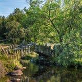 Langdale pequeno, ponte dos telhadores Imagens de Stock
