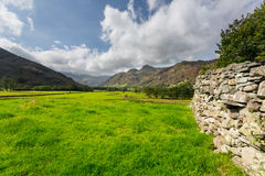 Langdale Pikes in Lake District Royalty Free Stock Image