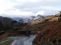 Langdale Pikes the lake district Stock Image