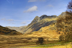 Langdale Pikes landscape Royalty Free Stock Photography