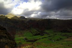 Langdale Pikes Royalty Free Stock Images