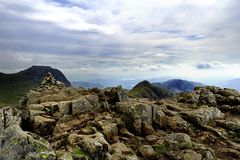Langdale Summits Stock Images