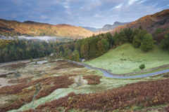 Langdale Sunrise stock image