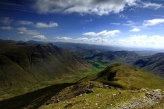 The Langdale Valley Stock Photos