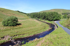 Langden Brook, Trough of Bowland, Lancashire Royalty Free Stock Photo