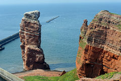 Lange Anna. A place of interest, on the german island Helgoland Stock Photography