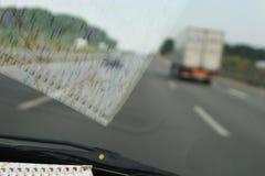 Lange autoaandrijving Royalty-vrije Stock Afbeelding