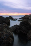 Felsige Küstenlinie Lizenzfreies Stockbild