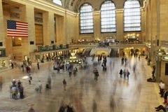 Lange Belichtung von Grand Central -Anschluss Lizenzfreies Stockbild