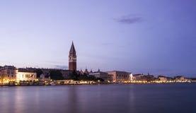 Lange Belichtung von San Marco, Venedig lizenzfreie stockfotografie
