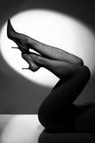 Lange benen Stock Foto