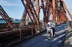 Lange Bien Brücke Lizenzfreies Stockfoto
