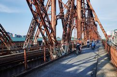 Lange Bien Brücke Stockfoto