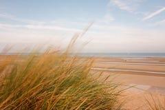 Lange blootstelling op strand Stock Afbeelding