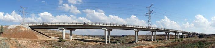 Lange Brücke lizenzfreie stockfotos