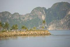 Lange Bucht ha - Viet Nam stockbilder