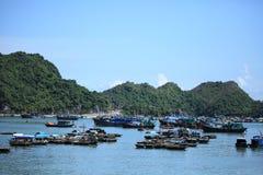 Lange Bucht Vietnam ha Lizenzfreies Stockfoto