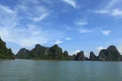 Lange Bucht Vietnam ha Stockbild