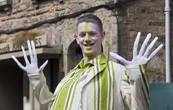 Lange Finger in Edinburgh Stockbilder