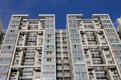 Lange flatgebouwen Royalty-vrije Stock Foto