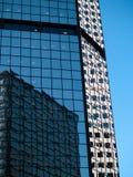 Lange gebouwen Stock Foto's