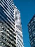 Lange gebouwen Royalty-vrije Stock Foto's
