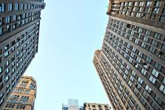 Lange gebouwen Royalty-vrije Stock Afbeeldingen