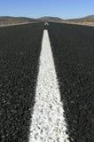 Lange gerade Straße Stockfoto