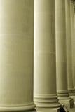Lange grote pijlers Royalty-vrije Stock Foto