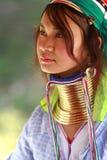 Lange halsstam, Thailand Royalty-vrije Stock Foto