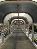 lange het lopen brug Royalty-vrije Stock Foto