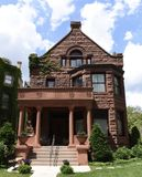 Lange House. This is a Summer picture of the Frederick J. Lange House located in the Lincoln Park neighborhood of Chicago, Illinois in Cook County.  This three Stock Photos