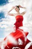 Lange kleding Royalty-vrije Stock Fotografie
