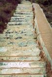 Lange ladder van het strand Royalty-vrije Stock Fotografie