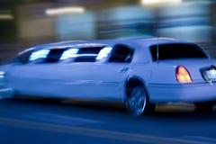 Lange limo Royalty-vrije Stock Foto