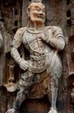 Lange mensen Boeddhistische beeldhouw Royalty-vrije Stock Foto's