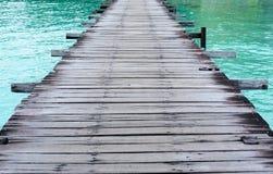 Lange Pier Royalty-vrije Stock Foto