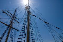 Lange schepen Stock Foto