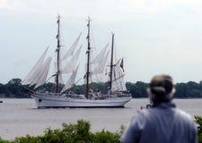 Lange schepen Royalty-vrije Stock Afbeeldingen