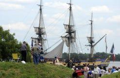 Lange schepen Royalty-vrije Stock Foto