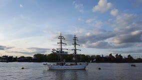 Lange schepen Royalty-vrije Stock Foto's