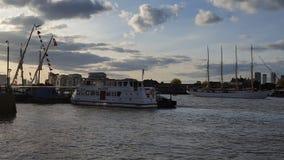 Lange schepen Royalty-vrije Stock Afbeelding