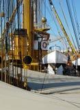Lange schipmast Royalty-vrije Stock Afbeelding