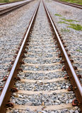 Lange spoorweg Royalty-vrije Stock Fotografie