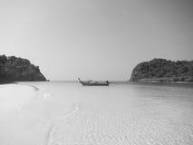 Lange staartboot Thailand Royalty-vrije Stock Afbeelding